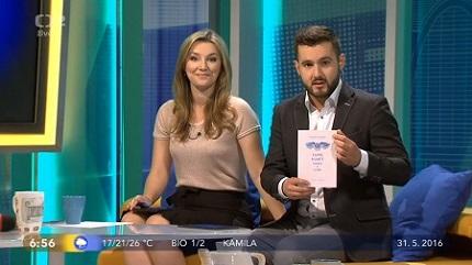 Kniha o tréninku a cvičení paměti v televizi s paměťovým atletem Markem Sýkorou
