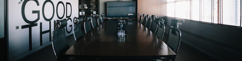 firemní porady, pořádání porad, porady ve firmách